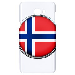Norway Country Nation Blue Symbol Samsung C9 Pro Hardshell Case