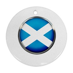 Scotland Nation Country Nationality Ornament (round)