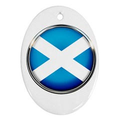 Scotland Nation Country Nationality Ornament (oval)
