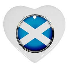 Scotland Nation Country Nationality Ornament (heart)