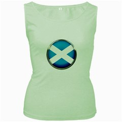 Scotland Nation Country Nationality Women s Green Tank Top