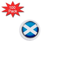Scotland Nation Country Nationality 1  Mini Buttons (100 Pack)