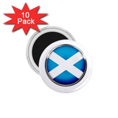 Scotland Nation Country Nationality 1 75  Magnets (10 Pack)  by Nexatart