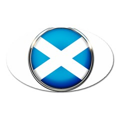 Scotland Nation Country Nationality Oval Magnet