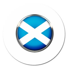 Scotland Nation Country Nationality Magnet 5  (round)