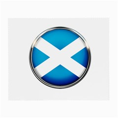 Scotland Nation Country Nationality Small Glasses Cloth