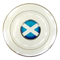 Scotland Nation Country Nationality Porcelain Plates