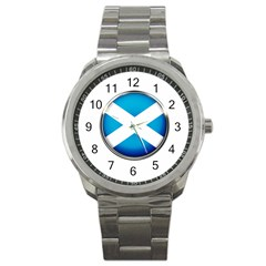 Scotland Nation Country Nationality Sport Metal Watch