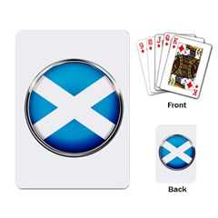 Scotland Nation Country Nationality Playing Card