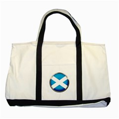 Scotland Nation Country Nationality Two Tone Tote Bag