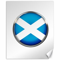 Scotland Nation Country Nationality Canvas 16  X 20