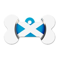 Scotland Nation Country Nationality Dog Tag Bone (two Sides) by Nexatart