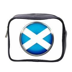 Scotland Nation Country Nationality Mini Toiletries Bag 2 Side
