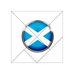 Scotland Nation Country Nationality Acrylic Tangram Puzzle (4  X 4 ) by Nexatart