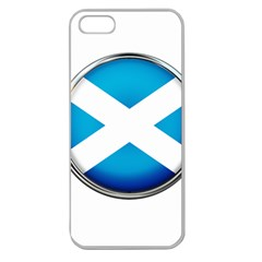 Scotland Nation Country Nationality Apple Seamless Iphone 5 Case (clear)