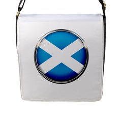 Scotland Nation Country Nationality Flap Messenger Bag (l)