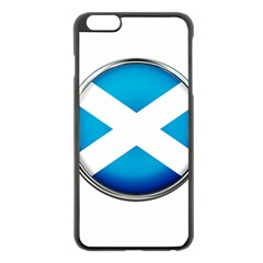 Scotland Nation Country Nationality Apple Iphone 6 Plus/6s Plus Black Enamel Case
