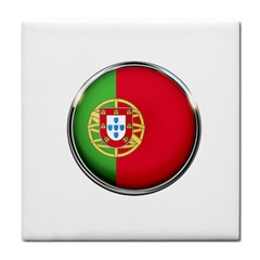 Portugal Flag Country Nation Tile Coasters