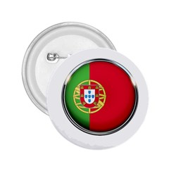 Portugal Flag Country Nation 2 25  Buttons