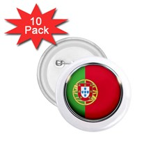 Portugal Flag Country Nation 1 75  Buttons (10 Pack)