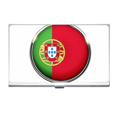 Portugal Flag Country Nation Business Card Holders