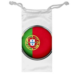 Portugal Flag Country Nation Jewelry Bag