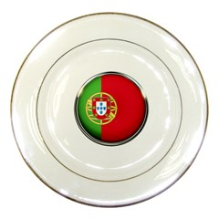 Portugal Flag Country Nation Porcelain Plates