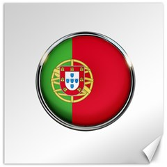 Portugal Flag Country Nation Canvas 16  X 16