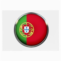 Portugal Flag Country Nation Large Glasses Cloth (2 Side)