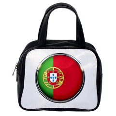 Portugal Flag Country Nation Classic Handbags (one Side)