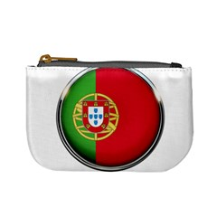 Portugal Flag Country Nation Mini Coin Purses