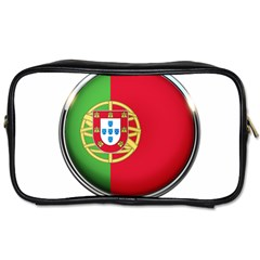 Portugal Flag Country Nation Toiletries Bags 2 Side