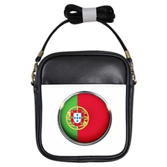 Portugal Flag Country Nation Girls Sling Bags