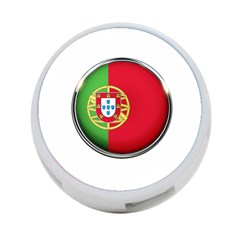 Portugal Flag Country Nation 4 Port Usb Hub (two Sides)  by Nexatart