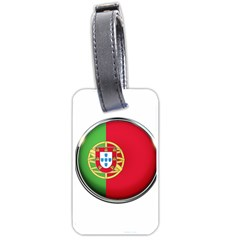 Portugal Flag Country Nation Luggage Tags (two Sides)