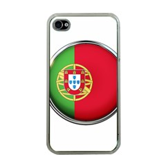 Portugal Flag Country Nation Apple Iphone 4 Case (clear)