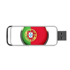Portugal Flag Country Nation Portable Usb Flash (one Side)