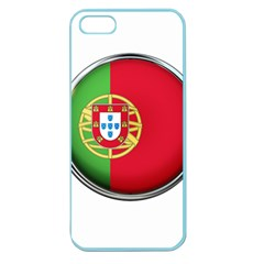 Portugal Flag Country Nation Apple Seamless Iphone 5 Case (color)