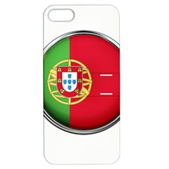 Portugal Flag Country Nation Apple Iphone 5 Hardshell Case With Stand