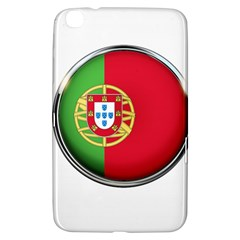 Portugal Flag Country Nation Samsung Galaxy Tab 3 (8 ) T3100 Hardshell Case