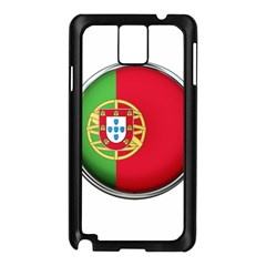 Portugal Flag Country Nation Samsung Galaxy Note 3 N9005 Case (black)