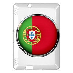 Portugal Flag Country Nation Kindle Fire Hdx Hardshell Case