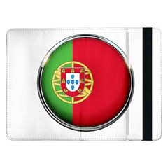 Portugal Flag Country Nation Samsung Galaxy Tab Pro 12 2  Flip Case