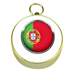 Portugal Flag Country Nation Gold Compasses