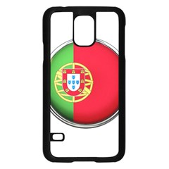 Portugal Flag Country Nation Samsung Galaxy S5 Case (black)