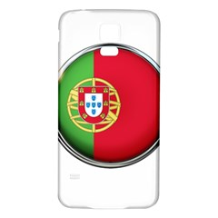 Portugal Flag Country Nation Samsung Galaxy S5 Back Case (white)