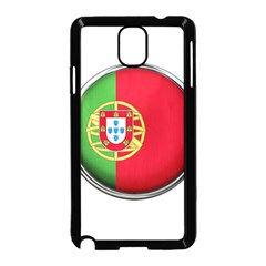Portugal Flag Country Nation Samsung Galaxy Note 3 Neo Hardshell Case (black)