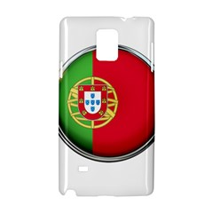 Portugal Flag Country Nation Samsung Galaxy Note 4 Hardshell Case