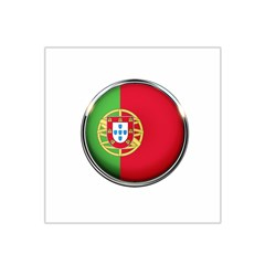 Portugal Flag Country Nation Satin Bandana Scarf