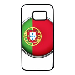 Portugal Flag Country Nation Samsung Galaxy S7 Black Seamless Case